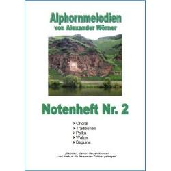 Alphornmelodien Heft 2