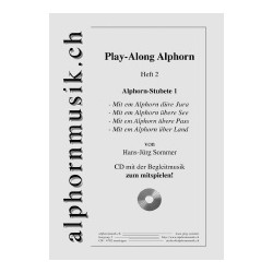 Play-Along Alphorn Heft 2