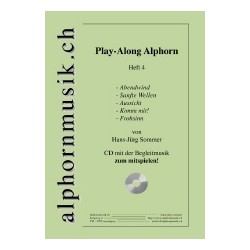 Play-Along Alphorn Heft 4